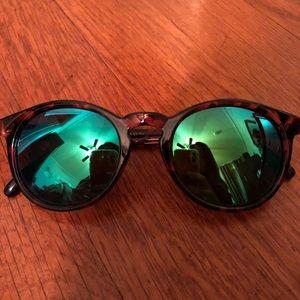 Sunski sunglasses dipsea tortoise emerald